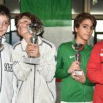 Frascati Scherma, che bravi i piccoli sciabolatori: tre primi e un secondo posto a Lucca