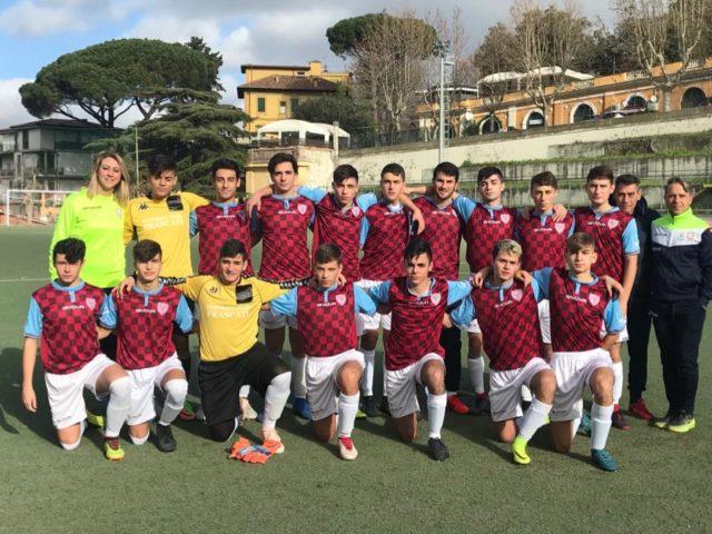 Football Club Frascati, Juniores regionale C: Intreccialagli da portiere a bomber nel giro di due mesi