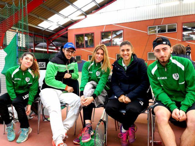 Tc New Country Club Frascati, tre universitari a Grenoble per un torneo internazionale a squadre