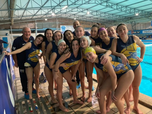 Serie B femminile, esordio agrodolce per la Waterpolis: passa la Cosernuoto (10-11)