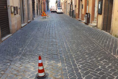 Avviati gli interventi di manutenzione straordinaria su Via Antonio Fabrini a Zagarolo
