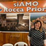 PRESENTAZIONE LISTA CIVICA SIAMO ROCCA PRIORA, CANDIDATA SINDACO ANNA GENTILI