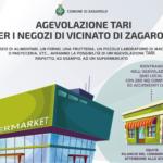 Zagarolo: Approvata l'agevolazione TARI per i negozi di vicinato