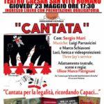"""A San Vito """"Cantata""""  per la legalità… ricordando Capaci"""