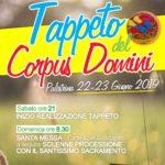 A Palestrina attesa per l'Infiorata del Corpus Domini