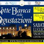 """La """"Notte Bianca delle Degustazioni"""" nel centro storico di Valmontone"""