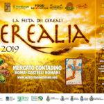 Festival Cerealia 2019 al mercato contadino Castelli Romani