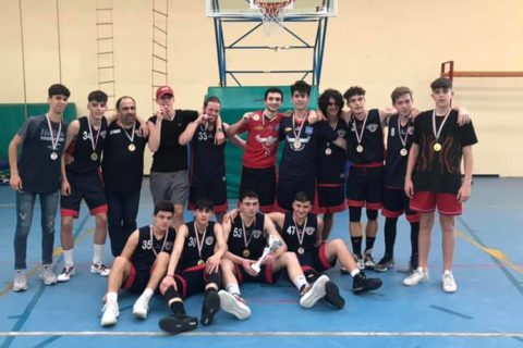 San Nilo Grottaferrata basket: Under 18 vince la Coppa Lazio, Under 15 in finale regionale