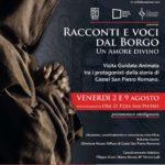 Quando le visite guidate incontrano il teatro a Castel San Pietro Romano
