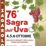 Al via la 76ª (Eco) Sagra dell'Uva di Zagarolo