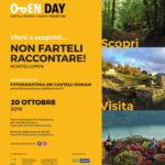 OPEN DAY CASTELLI ROMANI E PRENESTINI