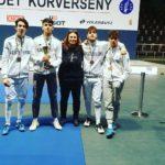 Frascati Scherma: fiorettisti terzi nel circuito U17 a Budapest, sciabolatrici sbancano nell'U23