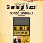 GIUDIZIO UNIVERSALE, Gianluigi Nuzzi a Cori con il suo ultimo libro