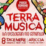 Ariccia: Terra, Musica e Polenta di Natale al via Parco Romano e Biodistretto