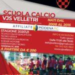 """Vjs Velletri, al via le iscrizioni alla Scuola Calcio: """"Per chi ama il pallone e i suoirimbalzi"""