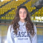 """Volley Club Frascati, la giovanissima istruttrice Sofia Falanga: """"Mi piace molto stare in palestra"""""""